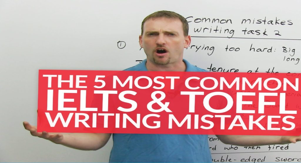 most common toefl essay mistakes Your essay will determine your grasp of the english language and your chances of thriving in an academic environment in an english-speaking country common essay writing mistakes  many students find toefl writing extremely challenging even if they have good english writing skills, they might not get a high score due to limited time.